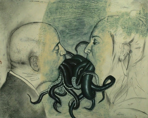 Octopus couple