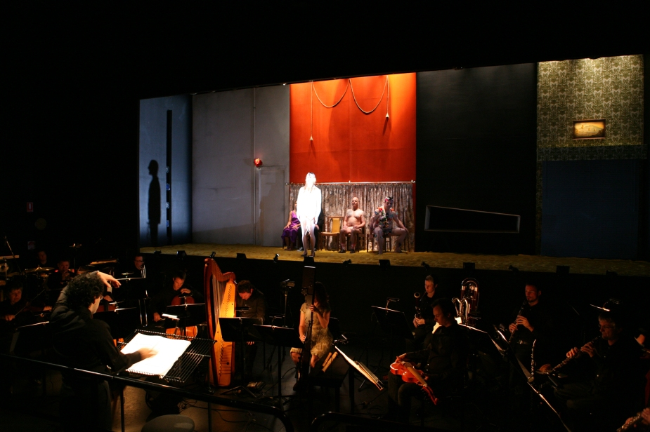 The Navigator, ELISION conducted by Manuel Nawri, Director Barrie Kosky, 2008 Brisbane Festival (Judith Wright Centre)