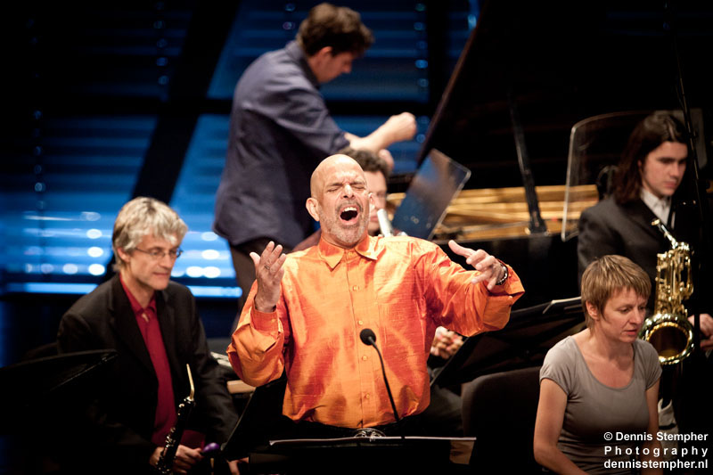 Tongue of the Invisible, Omar Ebrahim with Ensemble musikFabrik & Uri Caine, Bimhuis Amsterdam, June 2011 Holland Festival.