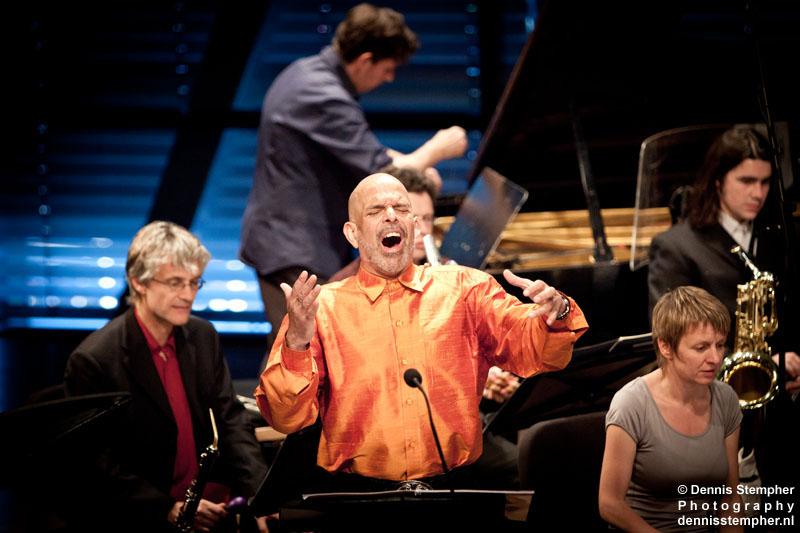 Tongue of the Invisible, Omar Ebrahim with Ensemble musikFabrik & Uri Caine, Bimhuis Amsterdam, June 2011 Holland Festival.
